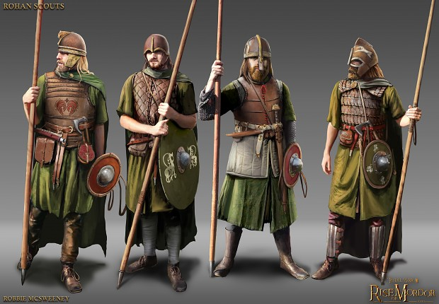 Rohan Scouts concept
