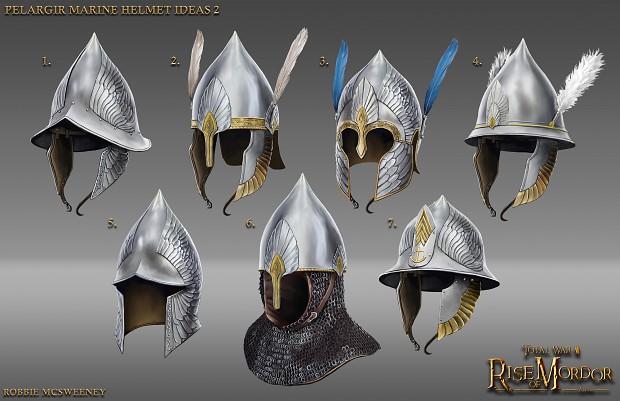 Pelargir helmets concept