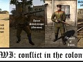 WWI: conflict in the colonies - units