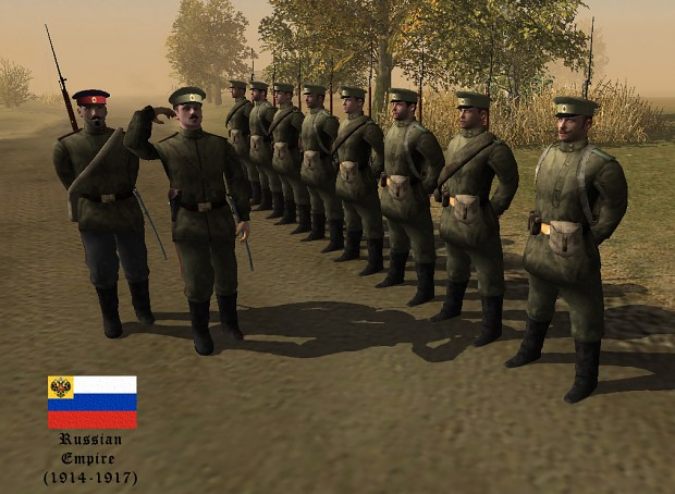 Russian units image - 1914: The war to end other wars mod ...