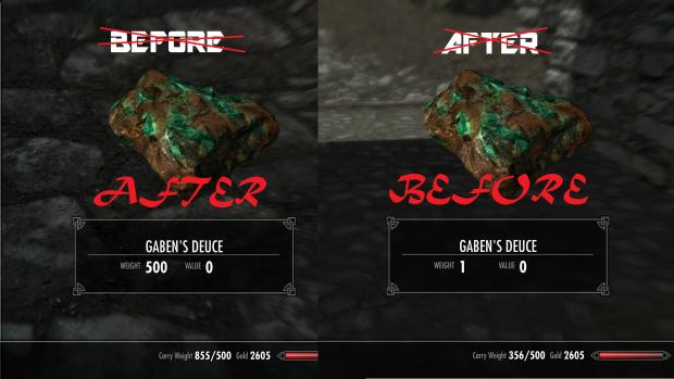 GD image - Gaben's Deuce mod for Elder Scrolls V: Skyrim