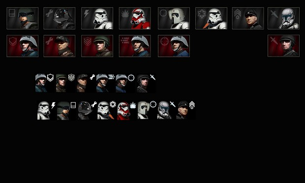 Faction Badges and rework Portraits