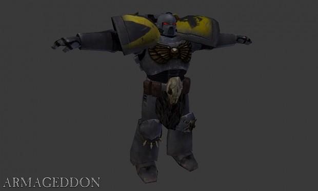 Optimized Wolf Guard Armor