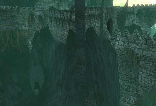 """""""abandoned"""" Dol Guldur"""