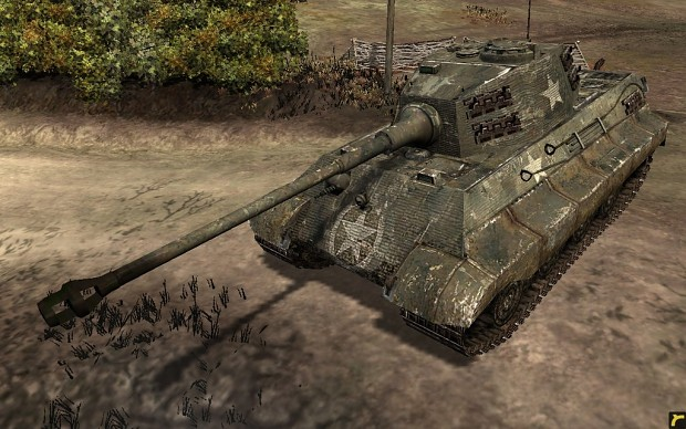 Captured German King Tiger Tank Image Western Front Eastern Front Mod For Company Of Heroes Mod Db
