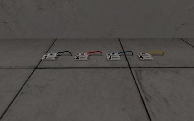 Keycards - LVL 1, 2, 3, 4