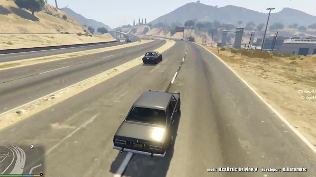 Perfect ramming in the car