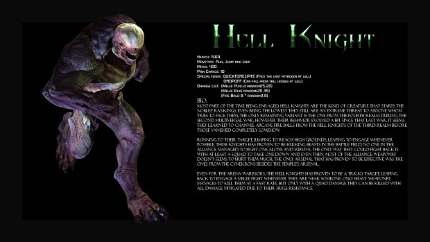 Hell Knight Profile