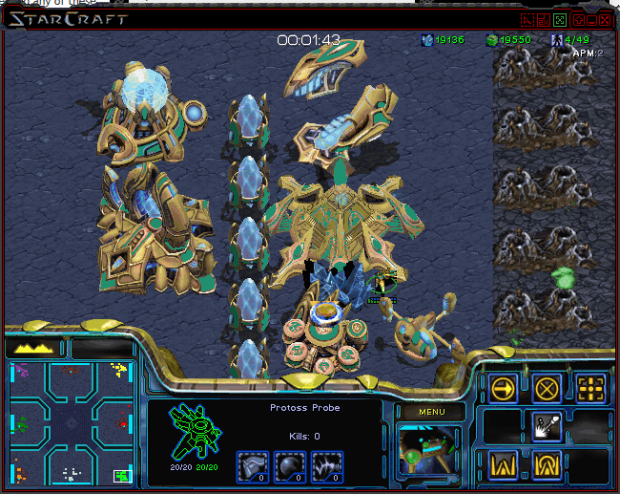 Some of Protoss buildings converted image - StarCraft II Special