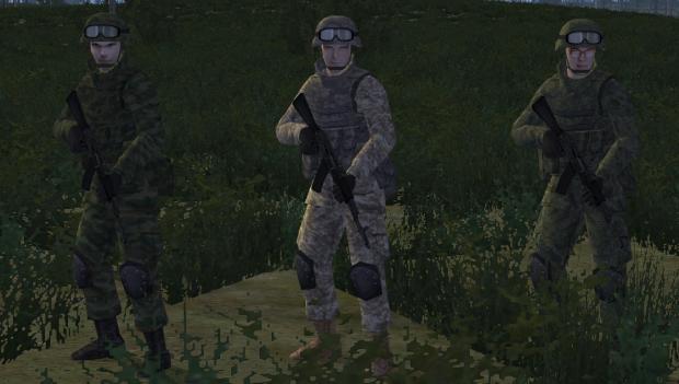 Russian VDV riflemen