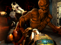 Ultimate BFG mod 1.2 running on Doom 3 BFG Hi Def 2.2