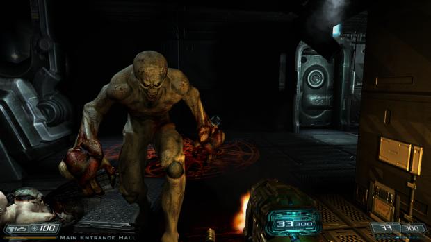 Doom 3 BFG Hi Def 2.5 muzzle flashes enabled 2