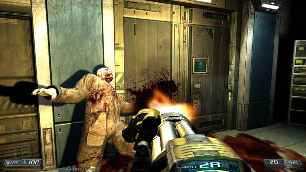 Doom 3 BFG Hi Def 2.6b patch - Muzzle flash shadows