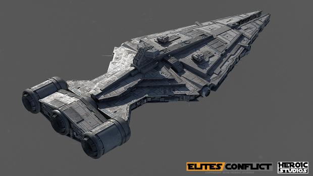 Imperial Restoration #2 - Arquitens Command Cruiser