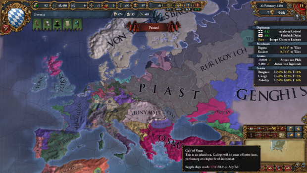 eu4 12 image - West Slavic Kinship: Heart of Europe mod for