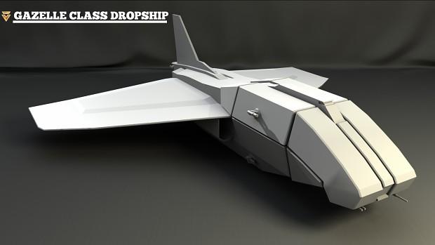 Gazelle Dropship [3055]