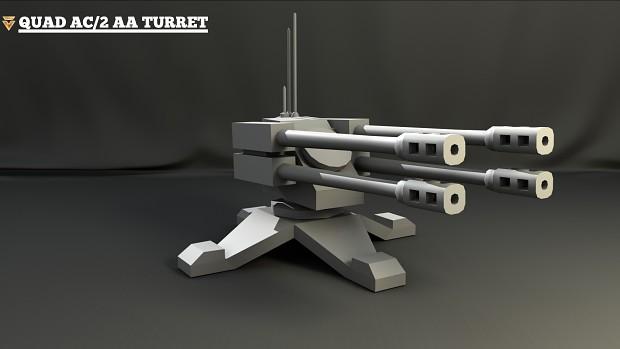 Quad AC/2 AA Turret