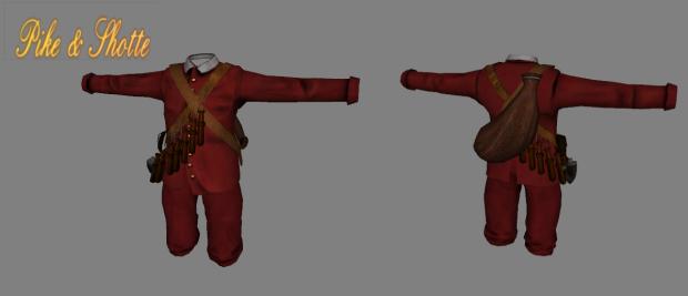 New musketeer uniform