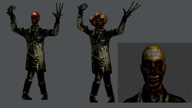 Zombie science team