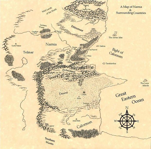 [SP][EN] Narnia: The Golden Age Drawn_map_of_narnia_by_swordoftheword-d3iuwca