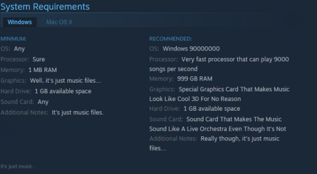 system requirements 2