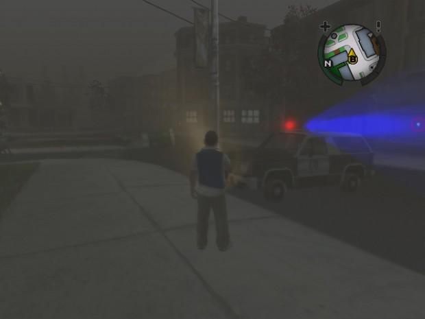 Abondon Police Car