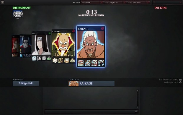 Hero Selection - First Impression