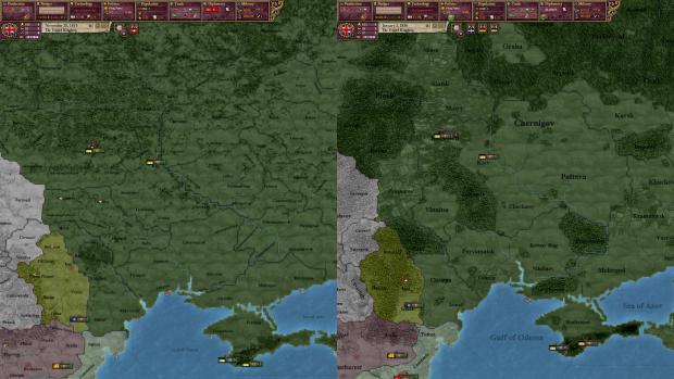 CoE Ukraine Comparison