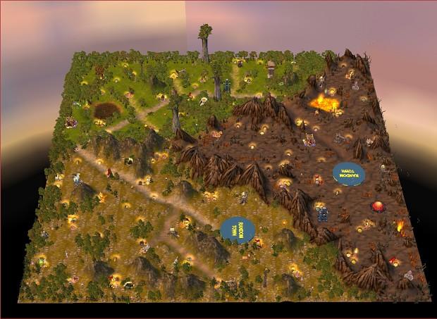 RMG landscapes