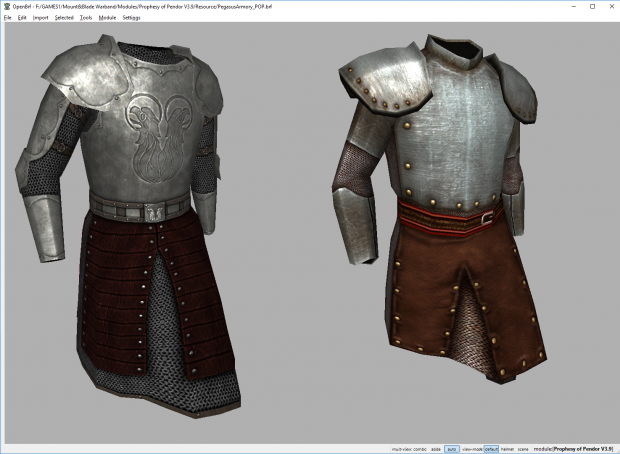 Barclay armor updates for v3.9.2