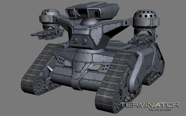 HK tank (modernized, late-war period)