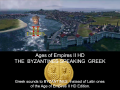 Greek sounds to Byzantines, Ages of Empires  II HD