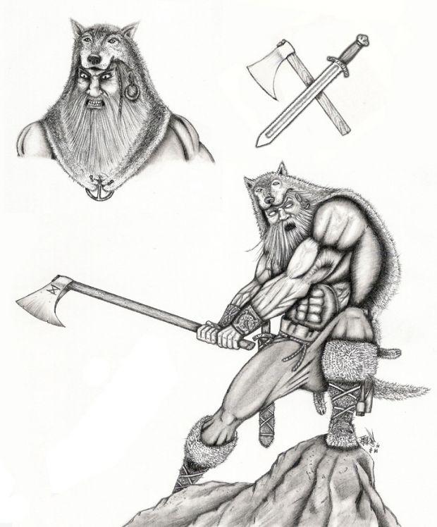 Viking Berserker!