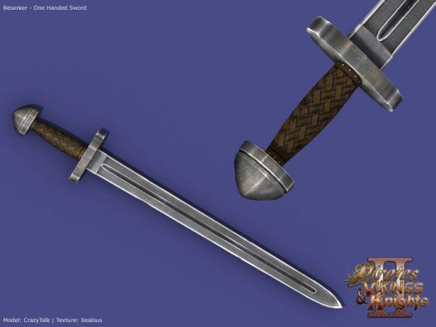 Berserker's Short sword