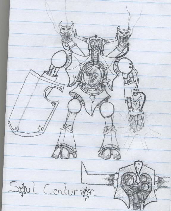 Soul Centurion Concept