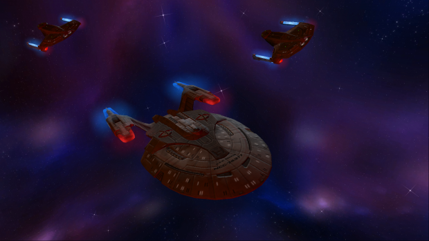 The USS Fenrir leads a task force