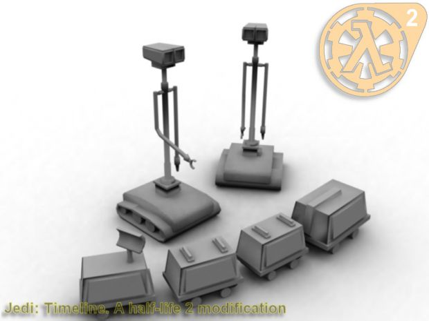 MSE-6 AKA mouse droid & WED Treadwell