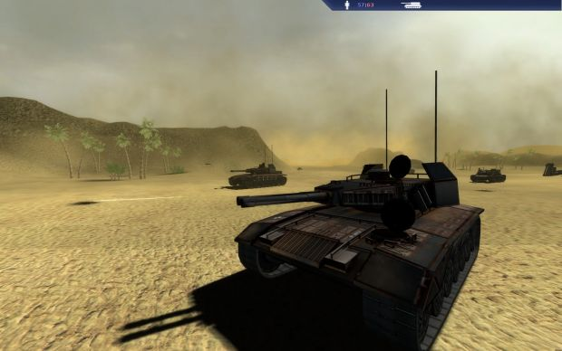 Duststorm tanks