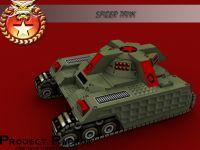 New Spider Tank design