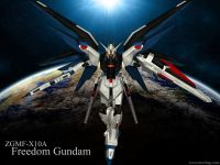 The ZGMF-X10A Freedom Gundam