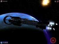 Starship exterior