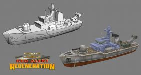 Allied Gunboat