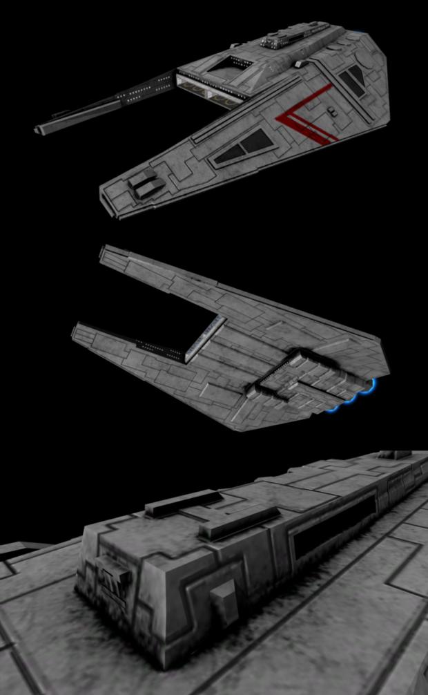 Liberator-class Cruiser - New Texture Image