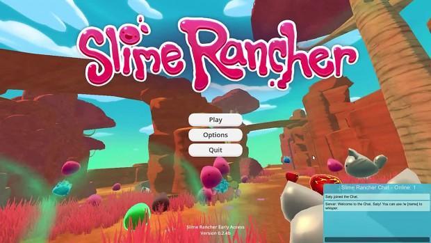 Slime Rancher - SlimeChat Mod - Global Rancher Chat