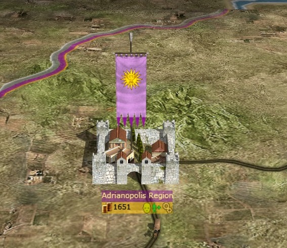 Latin-Eastern Roman City (Campaign Map)