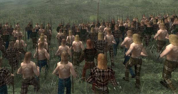 Celtic warband