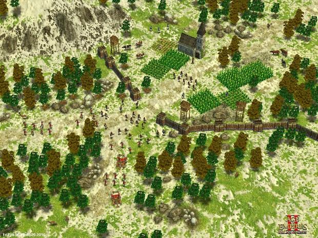 Village siege