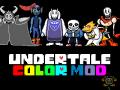 Undertale Color Mod: Repainted v1.11