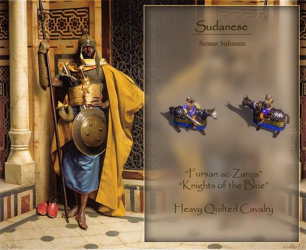 Sudanese Sennar Heavy Cavalry