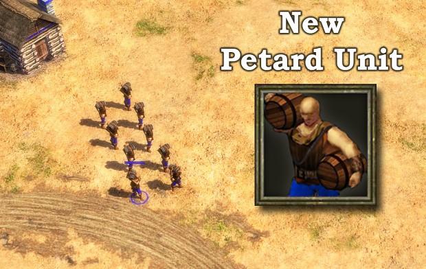 Petard New Unit - AOE III
